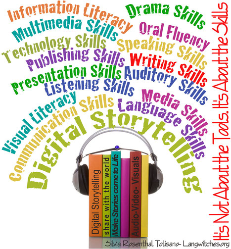 Digital Storytelling- It is not about the Tools...It's about the Skills by Langwitches, CC BY-NC-SA 2.0 via Flickr https://flic.kr/p/7BKss2