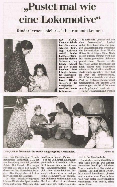 Winsener Anzeiger 10.11.1999