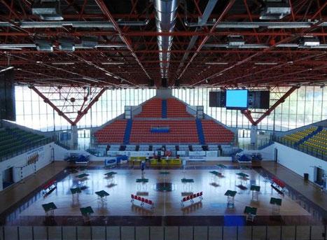 Torneo Open Luglio 2011-disposizione campi da gioco