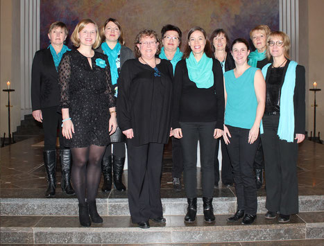 Chor Blue Notes e.V. Osburg - 2019 - Sopran