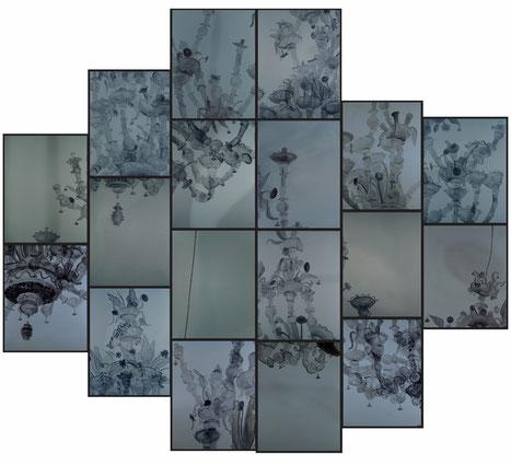 BERLIN EMBASSY  / 2011 /  oil on canvas  / 197 x 341 cm