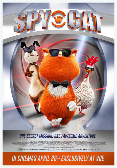 Spy Cat,  Marnie`s World, Die sagenhaften Vier, La Grande Cavale