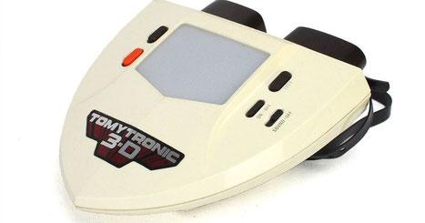 TomyTronic 3D (1983), la primera consola con visualización tridimencional