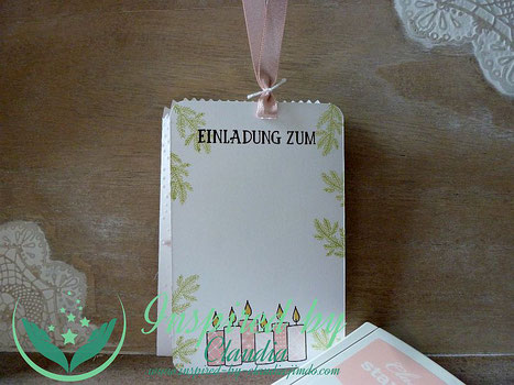 Stampin' Up! Freude im Advent