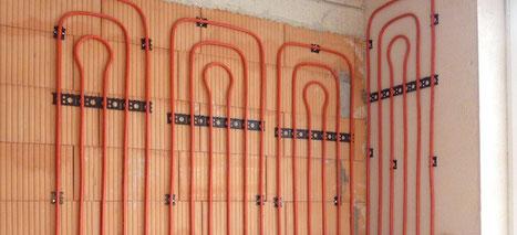 WEM Klimaregister - Lehm Wandheizung - Lehmbau Neuhaus