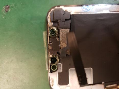 iPhoneXセンサー類組み換え