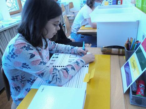 Unterrichtssequenz in der Primarschule