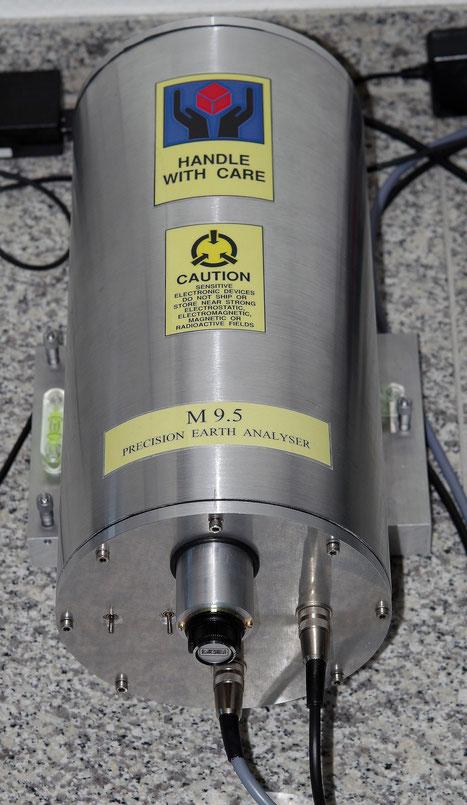 Sensor zur Erdbebenvorhersage   earthquake forecast measurement
