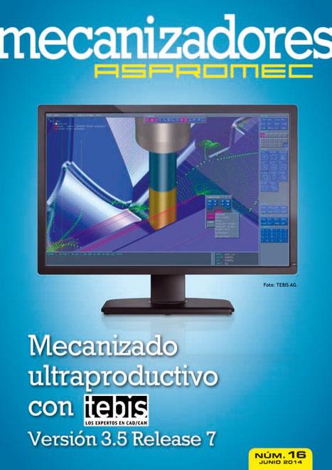 Revista Mecanizadores Aspromec 16. Junio 2014.