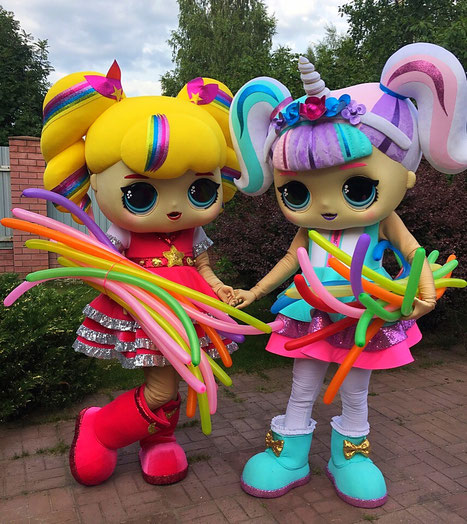 шоу куклы лол на детский праздник