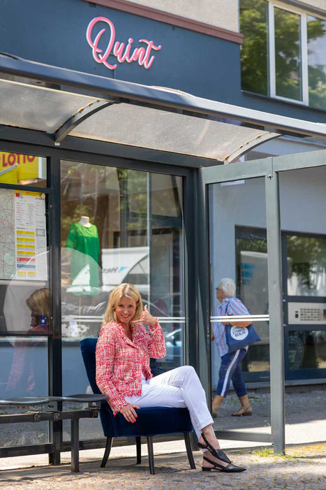Birgit Engelman Quint Damenmode Berlin Westend