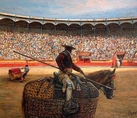 Испанский художник Антонио Капель