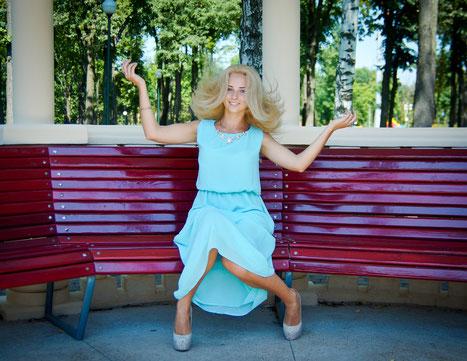 женский портрет - фотосессия в парке Горького в Харькове