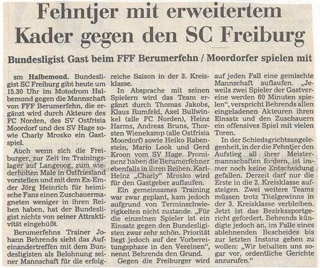 (Ostfr. Nachrichten vom 13. Juli 1996)