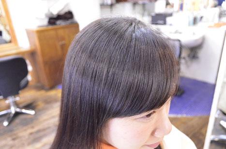 横浜で自然な仕上がりの縮毛矯正-ショート-ショートボブ-ボブ-前髪