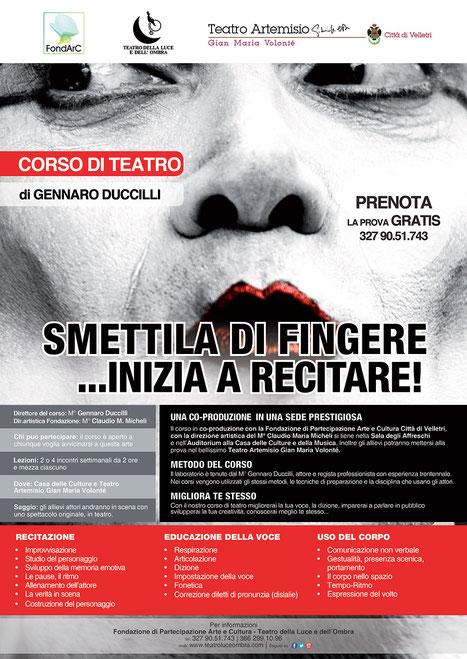 Corso di recitazione a Frascati