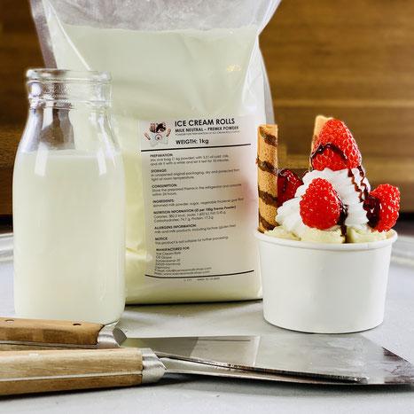 Ice Cream Rolls Premix Powder Recipe Base