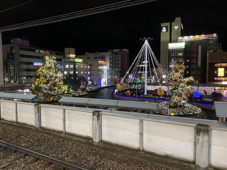 近鉄大和八木駅 大阪線ホームより撮影