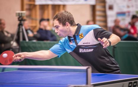 Michael Kufmüller gelang dieses Wochenende ein umkämpfter Sieg gegen Stefan Hufnagl. Im Doppel mit Tomas Janci sind die beiden Sierndorfer mittlerweile eine Bank.