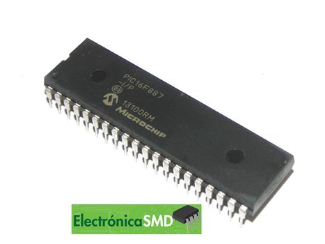 PIC16F887 guatemala, pic, electronica, electronico, microcontrolador, pic16f
