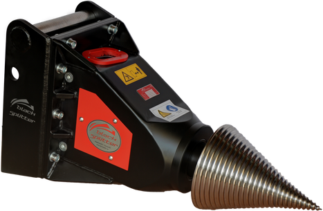 Kegelspalter Black Splitter S2X / Holzspalter / Spalter / Baggerzubehör / Bagger