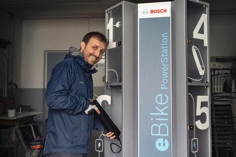 Bosch PowerStation mit Schließfach