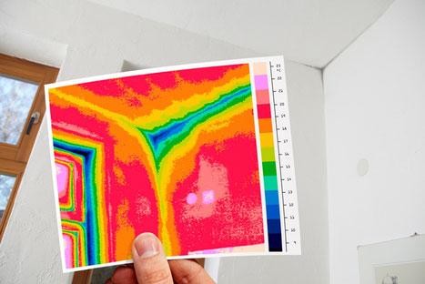 Thermographie zur Wasserschadenbeseitigung