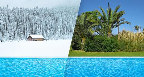 Pompe di calore per raffreddare e riscaldare le piscine