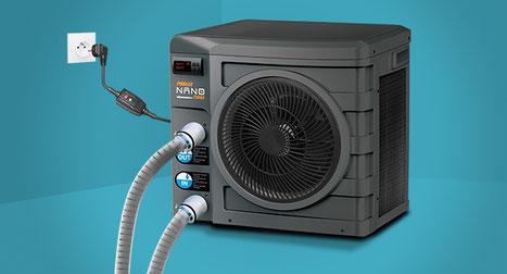Pompe di calore per piscine rapida installazione