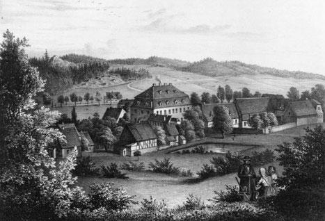Das Rittergut Hof-Thum 1856 Quelle (2)