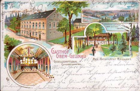 Gasthof Ober-Gelenau 1903