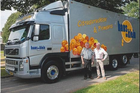 Foto: Jo (L) en Hans (R)