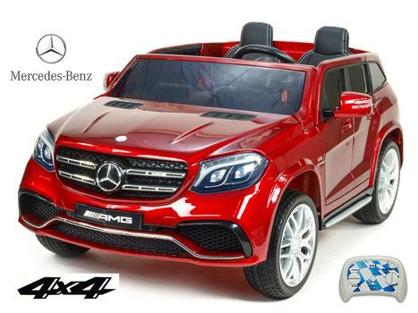 Mercedes AMG GLS63/2 Sitzer/Kinderauto/Kinder Elektroauto/Kinderautos/Kinder Elektroautos/Kinder Auto/weinrot/lizensiert/