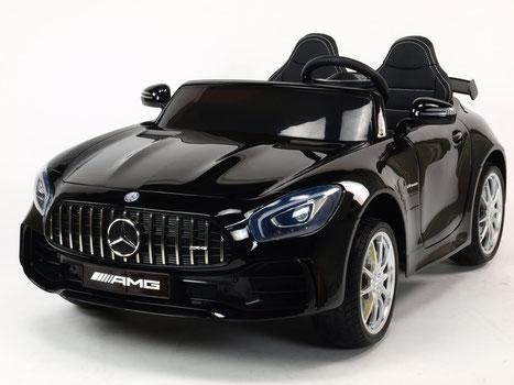 Mercedes AMG GT R/2 Sitzer/Sonderedition/Kinderauto/Kinder Elektroauto/Kinderauto/schwarz lackiert/lizensiert/
