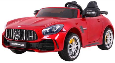 Mercedes AMG GT R/2 Sitzer/Sonderedition/Kinderauto/Kinder Elektroauto/Kinderautos/Kinder Elektroautos/Kinder Auto/rot lackiert/lizensiert/