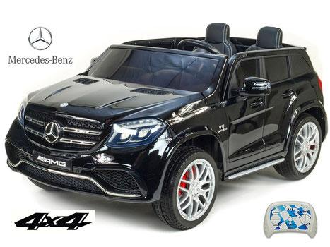 Mercedes AMG GLS63/2 Sitzer/Kinderauto/Kinder Elektroauto/Kinderautos/Kinder Elektroautos/Kinder Auto/schwarz/lizensiert/