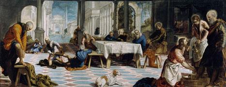 Tintoretto - La lavanda dei piedi