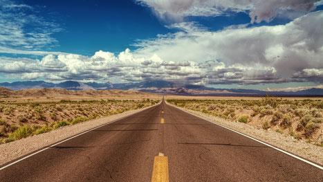 Schritt für Schritt führt der Weg zum Ziel - Schöne Landschaft