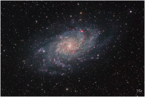 Bild: M33 Dreiecks-Galaxie Triangulum-Galaxie