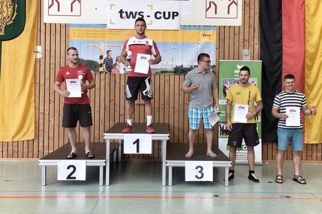 Michael WAGNER freute sich über Gold beim GP in Baden Württemberg