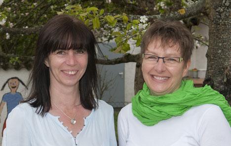 Küchenteam: Tanja Dobios und Christine Hanke