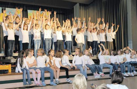 60 Kinder beim Workshop - 2014