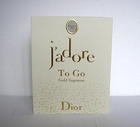 J'ADORE - TO GO , GOLD SUPREME PAILLETE - 15 ML