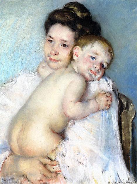 《母と子》1903年
