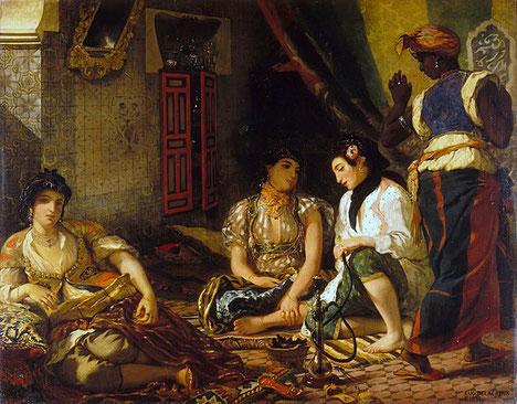 《アルジェの女たち》1834年
