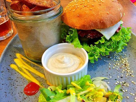 vegan burger balans bistro bratislava slovakia