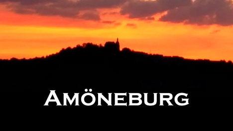 Amöneburg im Sonnenuntergang
