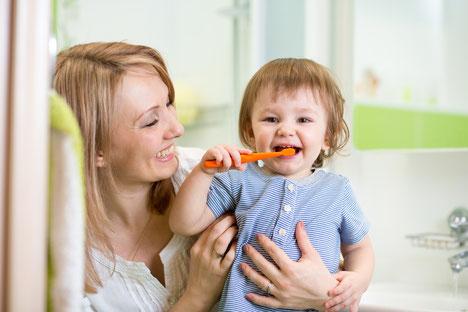 In der ZahnInsel gibt es Zahnputztipps für die ganze Familie