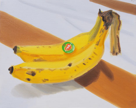 BANANA 2017  Oil on Canvas 22×27.3cm