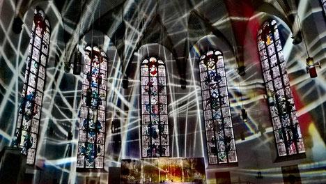 Eglise Katharinenkirche Luminale 2018